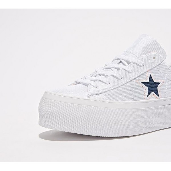 Converse One Star Platform Turnschuhe Damen