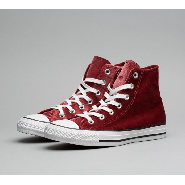 Converse Chuck Taylor All Star High Velvet Turnschuhe Damen