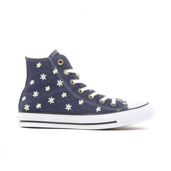 Converse Chuck Taylor All Star Hi Floral Denim Tur...