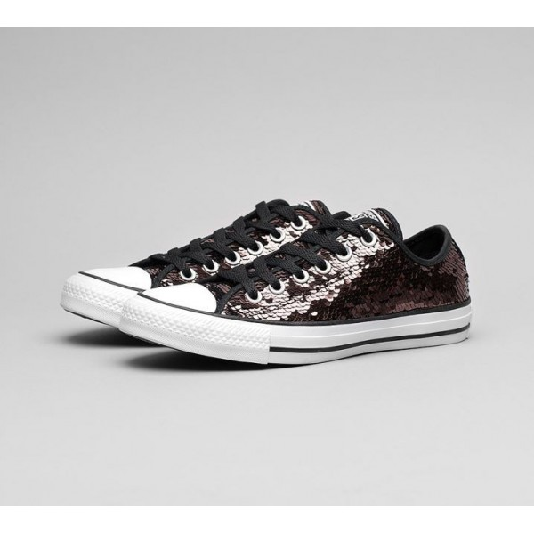 Converse Chuck Taylor All Star Ox Sequin Trainers ...