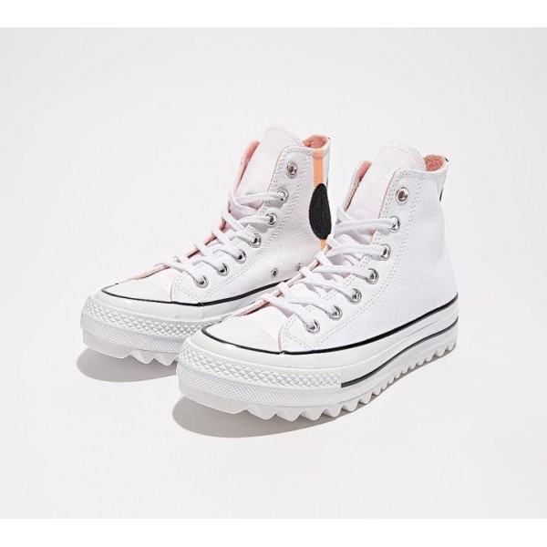 Converse Chuck Taylor All Star Lift Ripple Hi Turn...