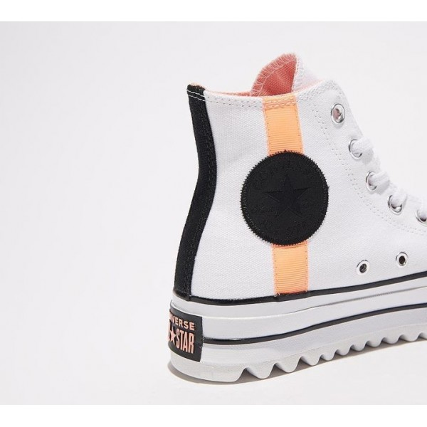 Converse Chuck Taylor All Star Lift Ripple Hi Turnschuhe Damen